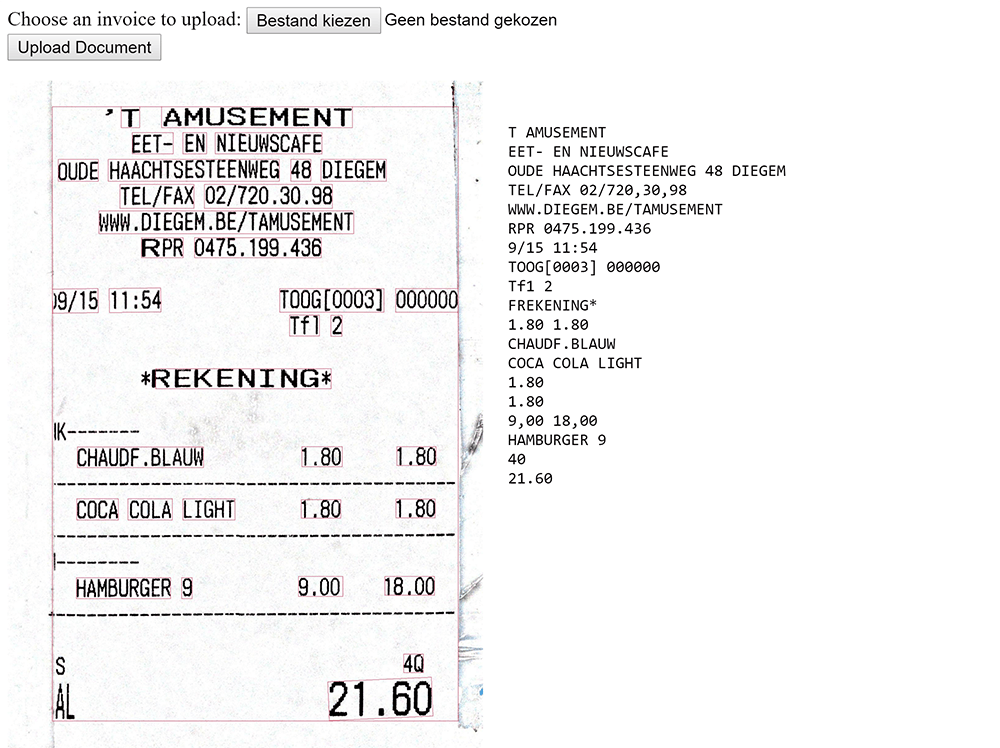 Wifi Receipt Printer Use Google Cloud Vision Api To Process Invoices And Receipts  Leanx Receipt Of Payment Template Word with Bbmp Tax Paid Receipt 2012-13 Excel Ocr Text Recognistion On Expense Receipt Loan Payment Receipt Template